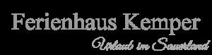 Ferienhaus Kemper